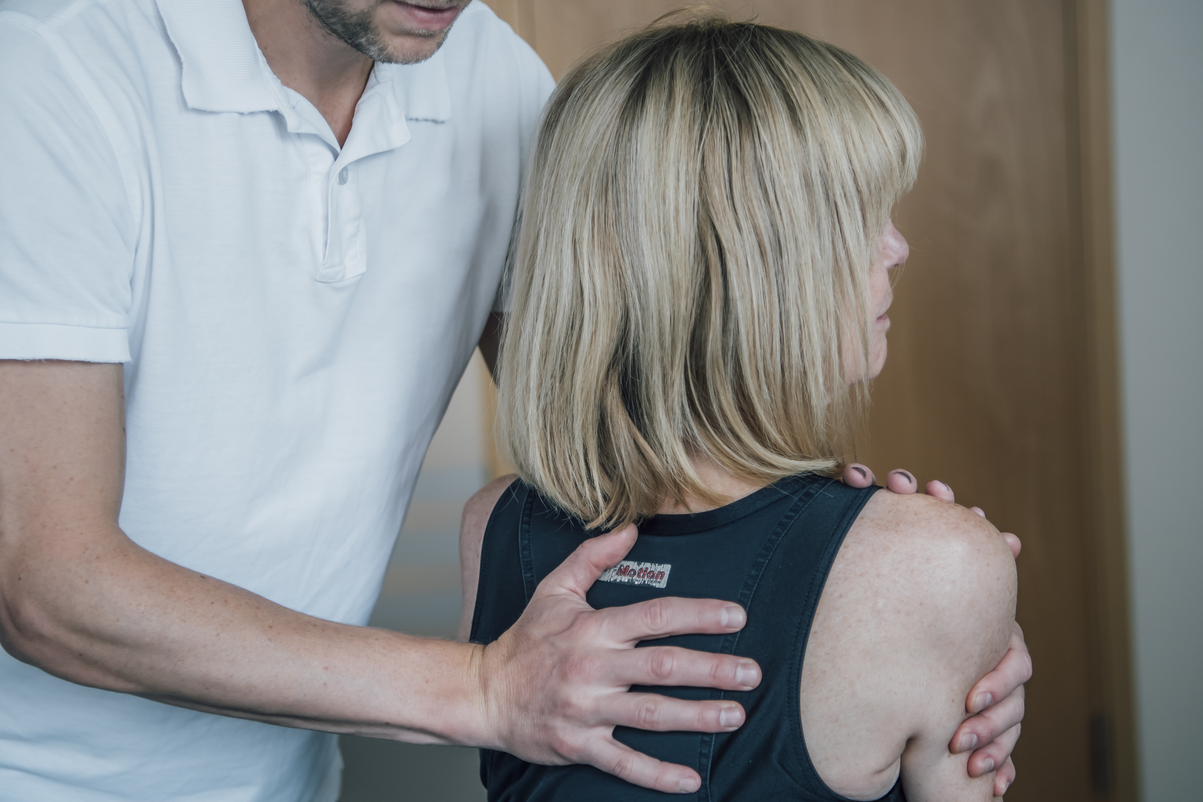 Hos kiropraktorn